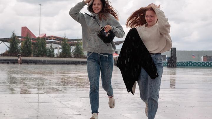 Синоптики объяснили, почему в Кузбассе идут дожди и когда они закончатся