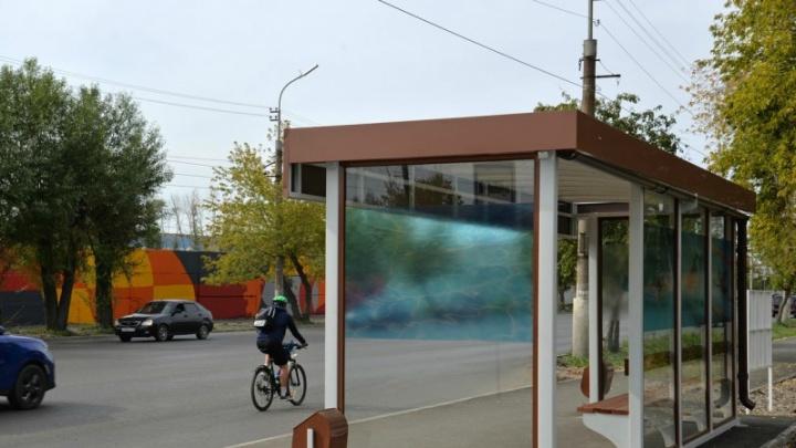 Тюменский бизнесмен установит новые автобусные остановки в Кургане
