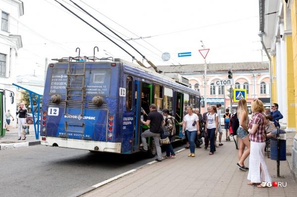 С 16 июля троллейбусы перестанут ездить до Торгового переулка
