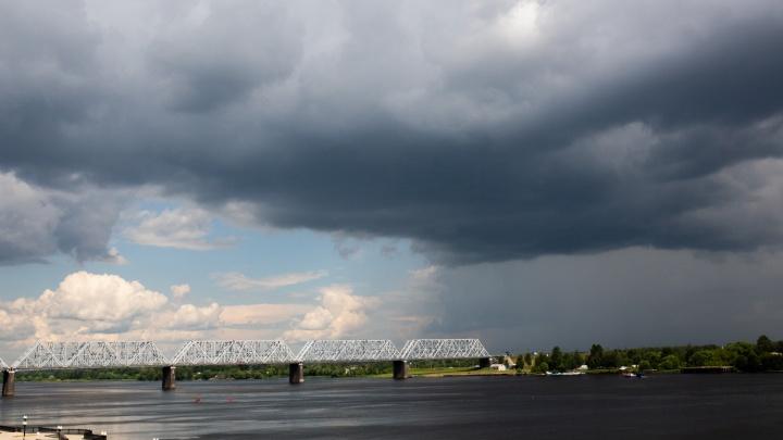 На Ярославль надвигается грозовой циклон