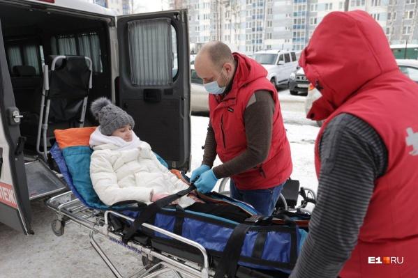 Девушка провела на реабилитации в Екатеринбурге почти полгода