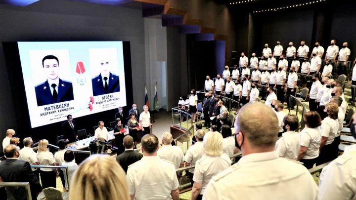 Убитых в Сочи приставов посмертно наградили орденами Мужества