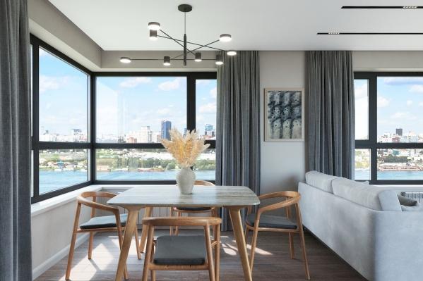 С четвертого этажа в каждой квартире будут теплые лоджии — подарок от застройщика