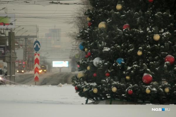 Утром 1 января в городе мало где встретишь людей
