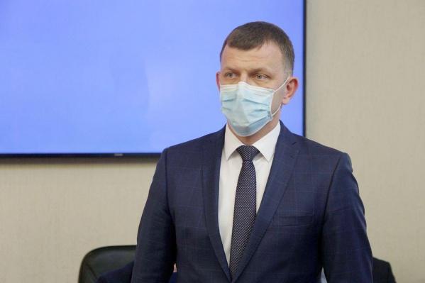 Пока что кресло мэра займет Евгений Наумов