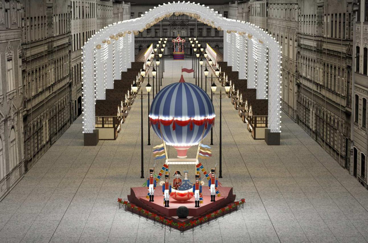 Гофмановский гротеск и петербургский Диснейленд. Смольный показал, как будет выглядеть Главная рождественская ярмарка