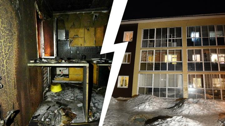 «Хозяина нашли на балконе»: подробности взрыва в жилом доме на Уралмаше