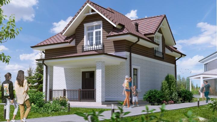Недорогой коттедж из нового стройматериала: как будут строить выставочный дом из силикатных блоков