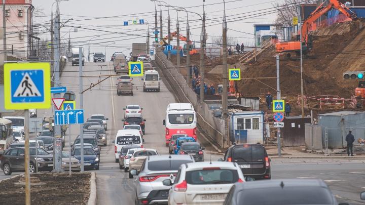 В центре Перми перекроют нечетную сторону улицы Попова
