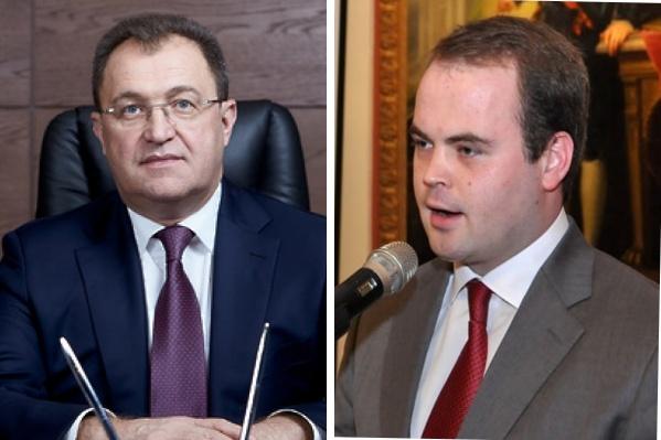 Игорь Сухин (слева) прокомментировал задержание своего заместителя Эдуарда Гребенщикова