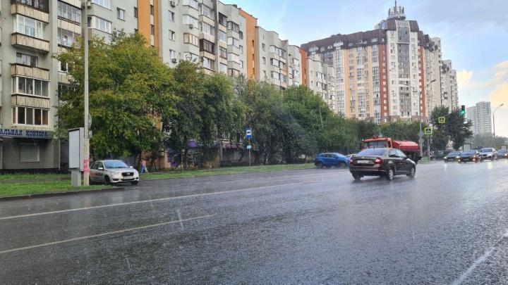 В Екатеринбурге наконец-то пошел дождь, которого ждали две недели