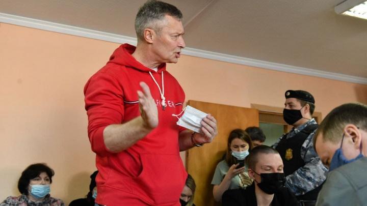 Ройзман оштрафован на 40 тысяч рублей за участие в митингах в поддержку Навального