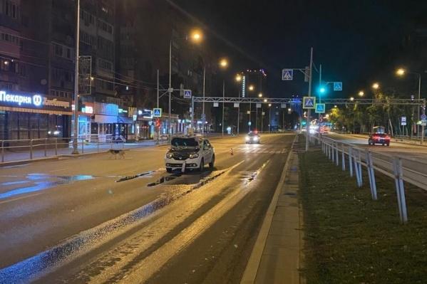 Инцидент произошел на пешеходном переходе