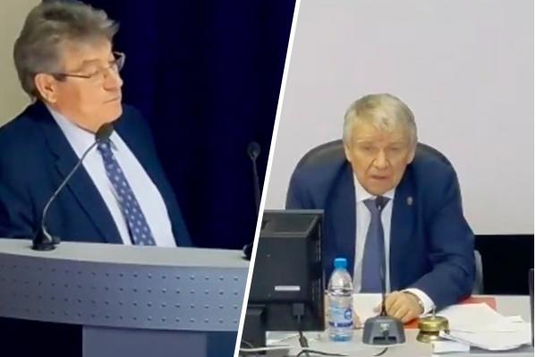 Ученые Александр Пузанов и Валентин Пармон