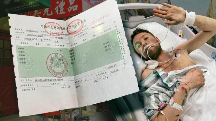 Екатеринбуржца, выпавшего с балкона в Китае, перевезли в Россию