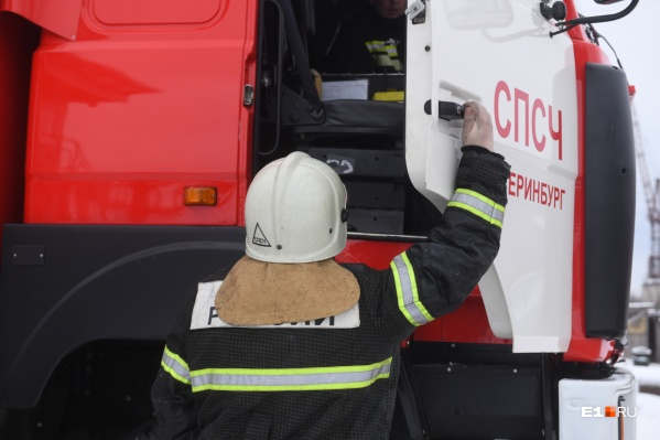 На Урале при пожаре пропали пятеро детей