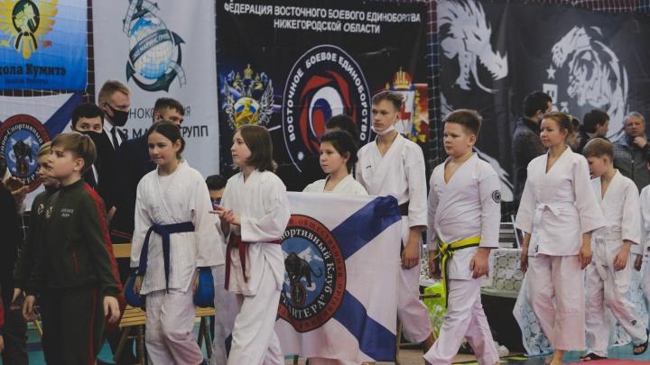 От карате до самбо: в Нижнем Новгороде прошел крупнейший фестиваль боевых искусств среди детей