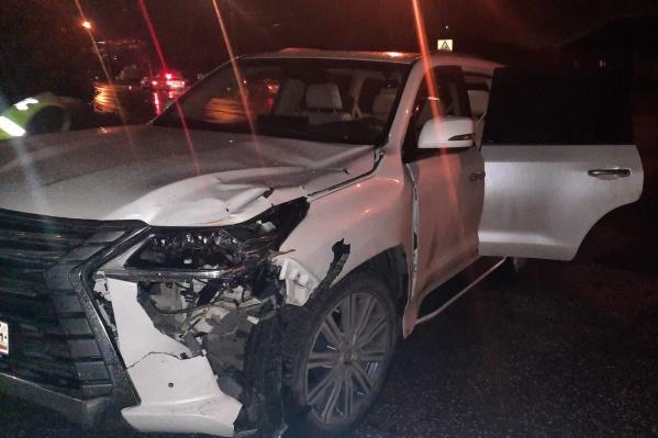 Авария произошла около остановки «Школа»