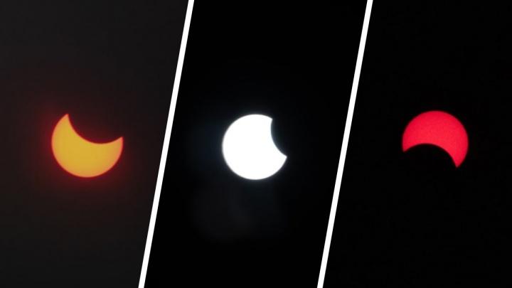 «Снимал через рентгеновский снимок»: собрали фото редкого затмения, которое вы могли пропустить