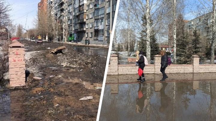 «Каждую весну это неожиданность»: блогер Илья Варламов раскритиковал затопленные улицы Оби
