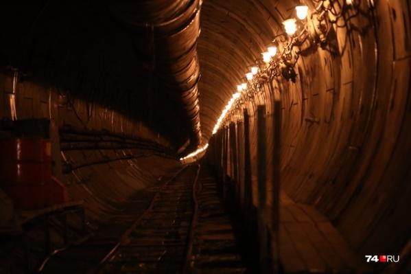 Недостроенное метро хотят сделать частью транспортной системы Челябинска