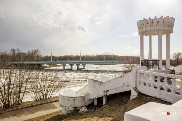 Работы на Которосльной набережной в Ярославле начнутся в июне