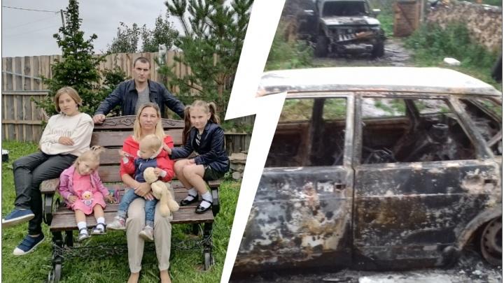 «Сожгли две машины»: в Нижнем Тагиле «черные лесорубы» несколько лет терроризируют многодетную мать