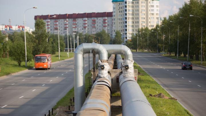 До 26 августа в Сургуте завершится ремонт и подготовка тепломагистралей к зиме