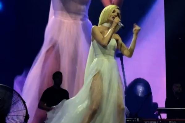 Концерт Полины Гагариной в Челябинске прошел в минувшую субботу