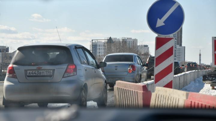 Везде пробки: как объезжать закрытый мост на Блюхера