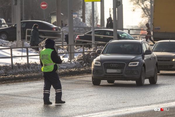 На дороги выйдут сотни сотрудников ГИБДД
