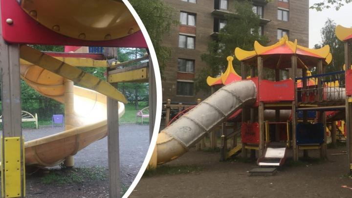 «Реабилитация обещает быть долгой»: на детской площадке в Архангельске сильно травмировалась девочка
