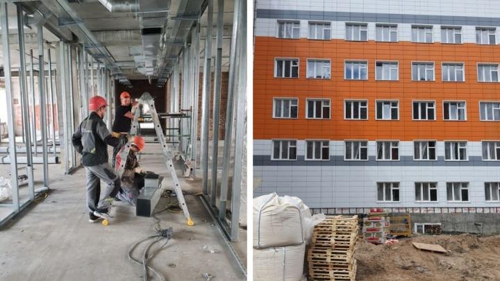 Завершено возведение новой поликлиники в Покровке. Что там будет и когда ждать открытия?