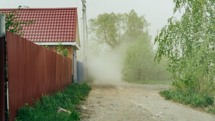 В Омской области во время шторма от удара током погиб мужчина