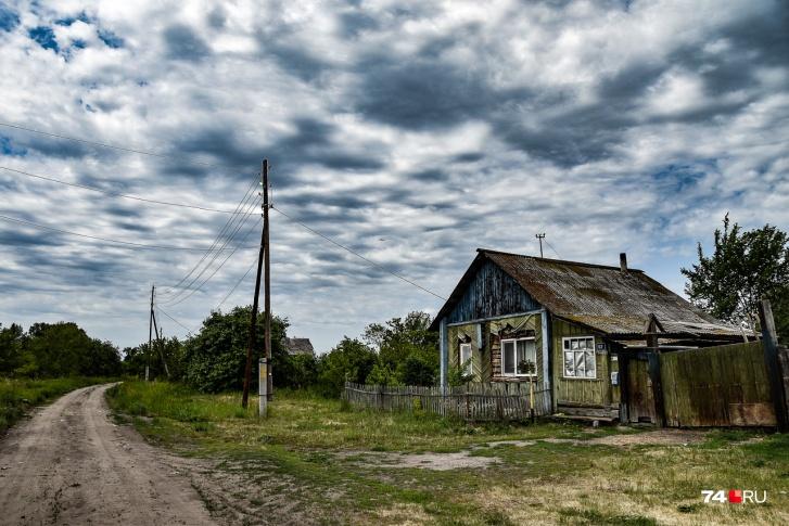 Полузаброшенная улица
