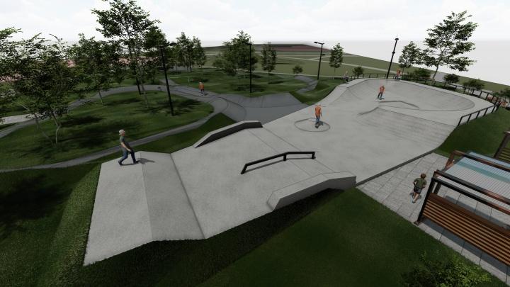 Первый бетонный скейт-парк построят в Красноярске за 10 миллионов рублей