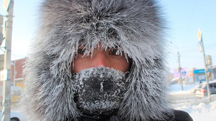 Синоптики спрогнозировали сохранение морозной погоды в Омской области