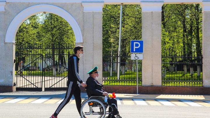 В мэрии Уфы пояснили, почему ветерана оставили без внимания во время парада Победы