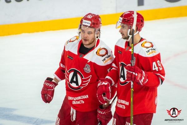 «Автомобилист» встретился с «Динамо» на стадионе в Минске