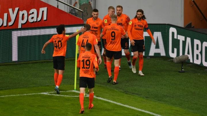 Ничья № 13: «Урал» и «Ахмат» забили по одному голу в матче в Екатеринбурге