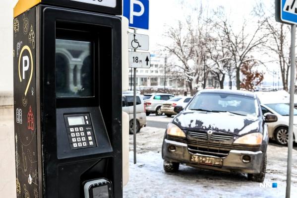 """Первая попытка организовать платную парковку была предпринята <nobr class=""""_"""">в 2016 году</nobr> на улице Рождественской&nbsp;"""