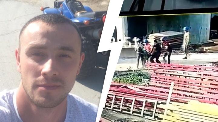 На стройке в Екатеринбурге мигранты избили крановщика. Мужчина уверен, что дело пытаются замять
