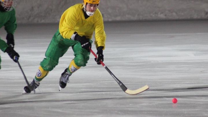 «Водник» выиграл у «Мурмана» в матче чемпионата России по хоккею с мячом