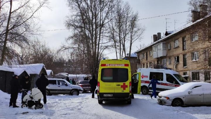 В жилом доме в районе Кольцово произошел взрыв