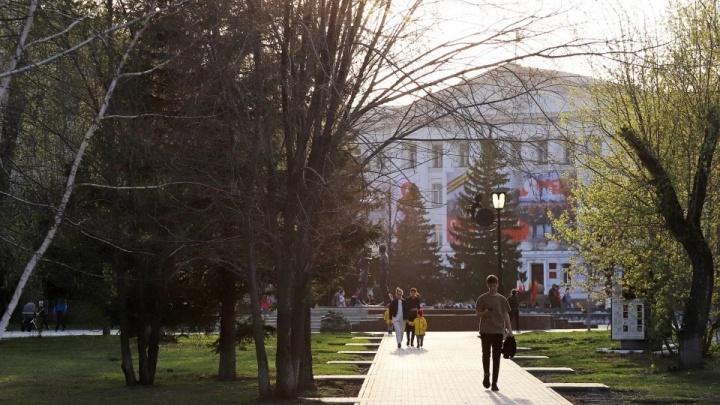 В горсаду Кургана появится памятник Александру Невскому