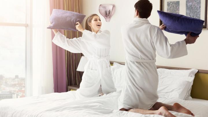 Рецепт уютного дома: пледы, постельное бельё и полотенца будут продавать в «Галамарте» за один рубль