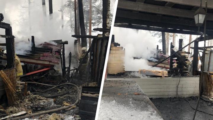 «Ущерб 14 миллионов»: на Балтыме устроили поджоги в загородном клубе «Лесная сказка»