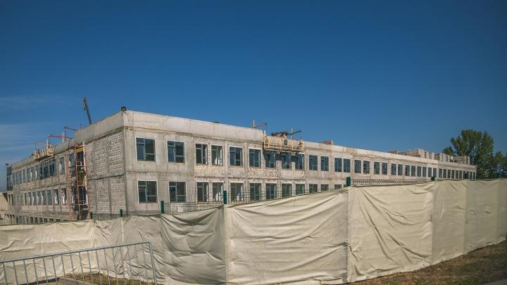 Стало известно, когда в Самаре достроят второй корпус школы на Пятой просеке