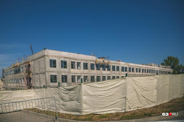 В корпусе будут расположены школа и детский сад