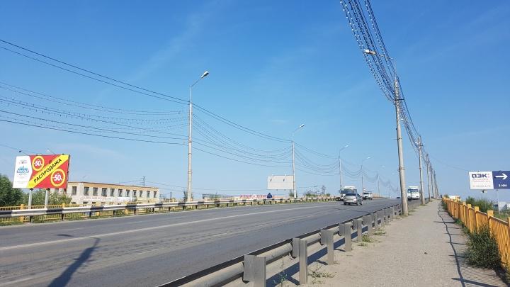 В Кургане не смогли найти подрядчика для ремонта моста на улице Пролетарской